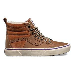 NEW Vans Sk8-Hi MTE Hana Beamans Sherpa Sneakers